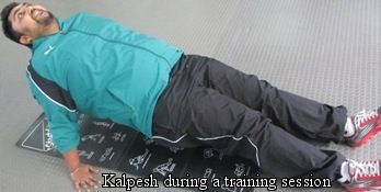 Kalpesh- Personal Training Client