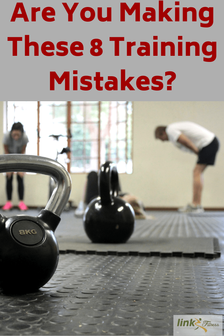 8 training mistakes