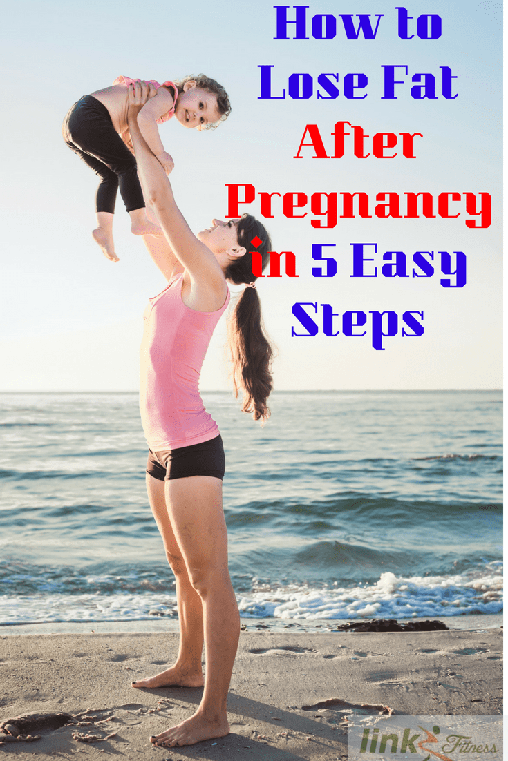lose fat after pregnancy